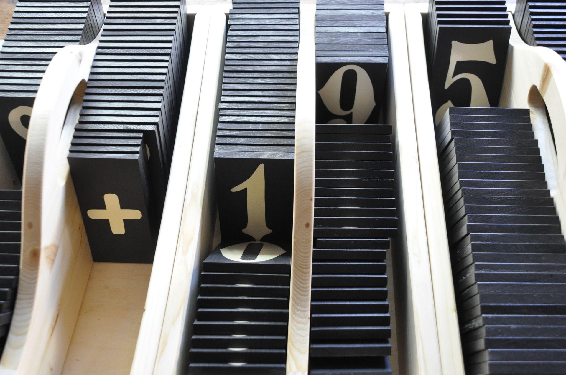 Neubeschriftung von Kirchentafeln für die Kirche St. Johannis in Harvestehude