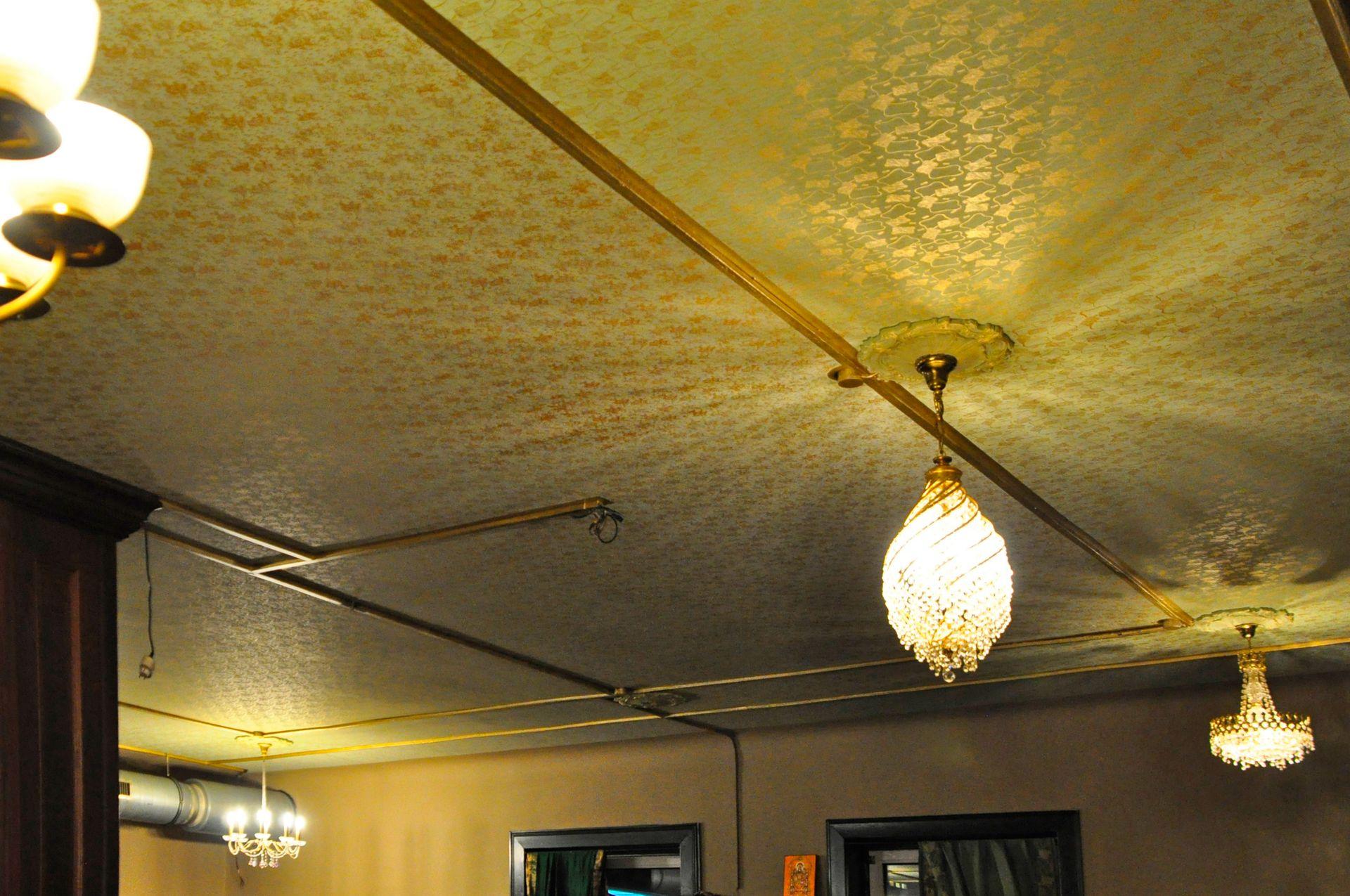 Deckenbemalung im Restaurant Maharaja am Neuen Pferdemarkt
